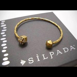 Silpada on the dot cuff bracelet